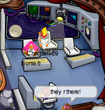 Club Penguin Space Adventure Play